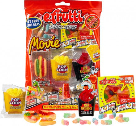 e.Frutti Movie Pack Gummi Candy