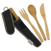 Bamboo Utensil Set- Black