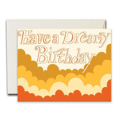 Dreamy Birthday Greeting Card