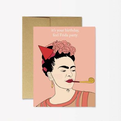 Frida Party Greeting Card