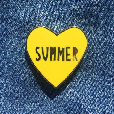 Summer Love Enamel Pin