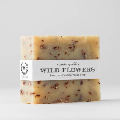 Wildflowers Handmade Vegan Bath Soap