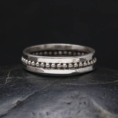 Sterling Silver Corona Ring