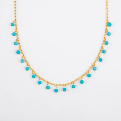 Turquoise Dangle Necklace