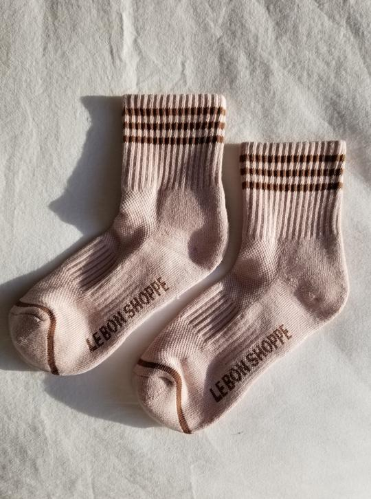 Le Bon Girlfriend Socks- Bellini