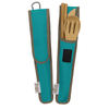 Bamboo Utensil Set- Agave (Teal)