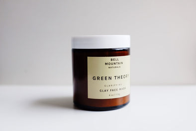 Bell Mountain Green Theory Clay Face Mask- 4oz