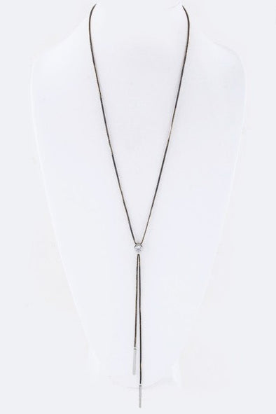 Drop Bar Necklace