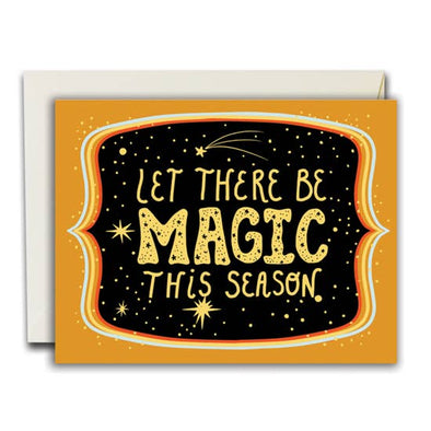 Let There be Magic Greeting Card