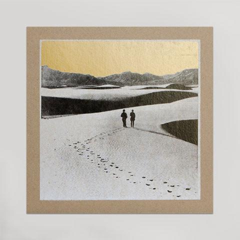 White Sands Letterpress Print