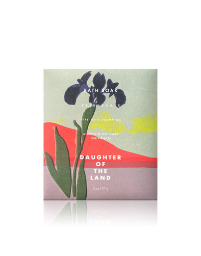 Daughter of the Land Iris & Rosehips Bath Soak