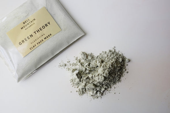 Bell Mountain Green Theory Clay Face Mask- Sample Pack