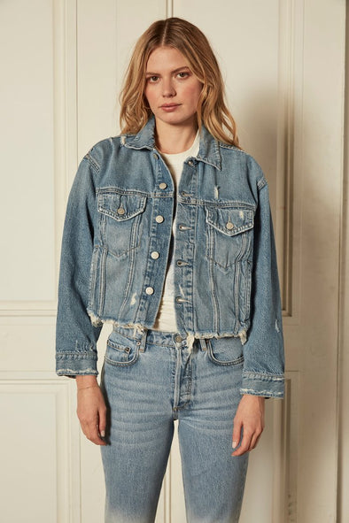 Boyish The Harvey Denim Jacket- Gilda