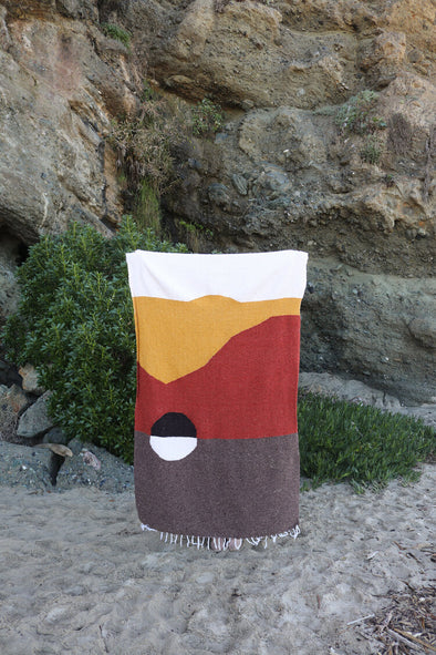 Tribe & True Handwoven Blanket- Death Valley