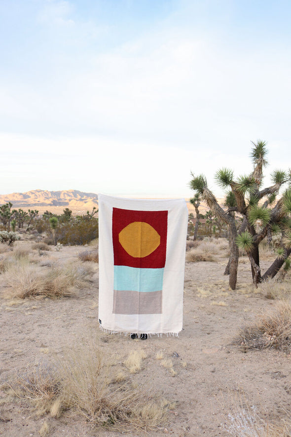 Tribe & True Handwoven Blanket- Catalina