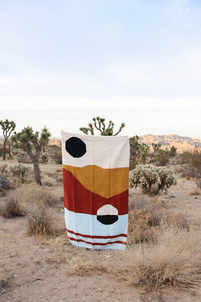 Tribe & True Handwoven Blanket- Capistrano