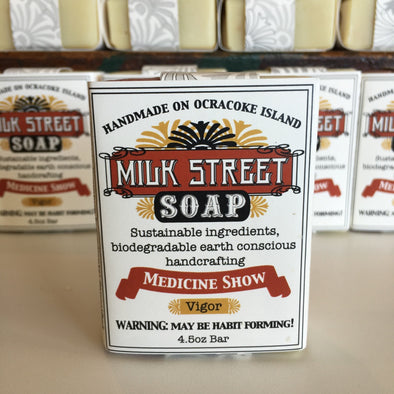 Milk Street Soap Co- Medicine Show, Vegan