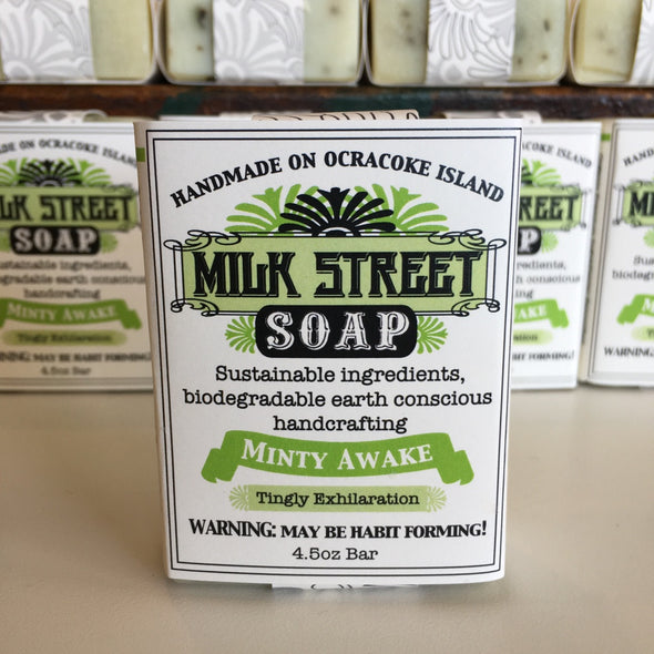 Milk Street Soap Co- Minty Awake, Vegan