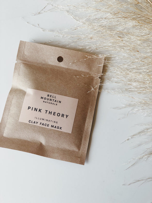 Bell Mountain Pink Theory Clay Face Mask- Sample Pack