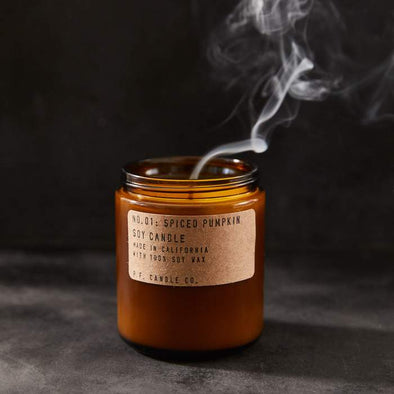 PF Candle Spiced Pumpkin- Holiday Collection
