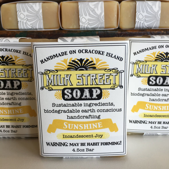 Milk Street Soap Co- Sunshine, Goat Milk