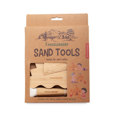 Plastic-Free Bamboo Sand Tools
