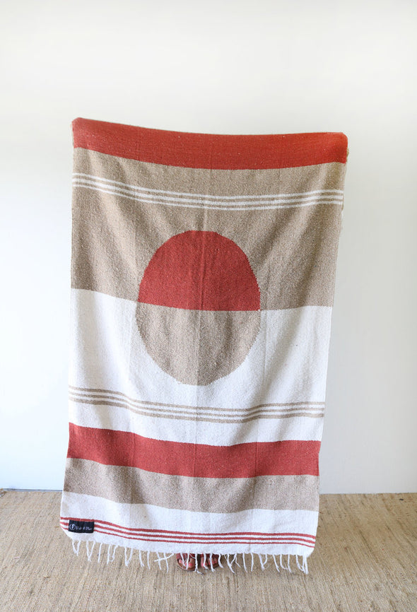 Tribe & True Dreamweaver Blanket- Rising Sun