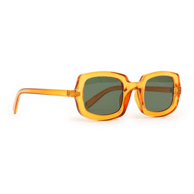 Powder Sadie Sunglasses- Clear Orange