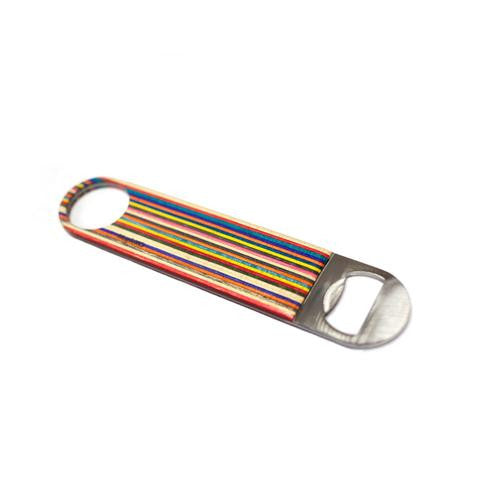 Recycled Skateboard Large Bottle Opener