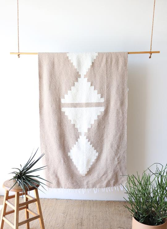 Tribe & True Adobe Sandstone Blanket