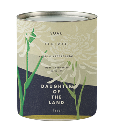 Daughter of the Land Cypress Bath Soak