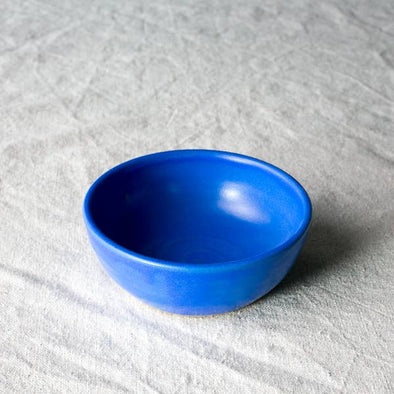 "Settle Ceramics 4"" Bowl- Cobalt"