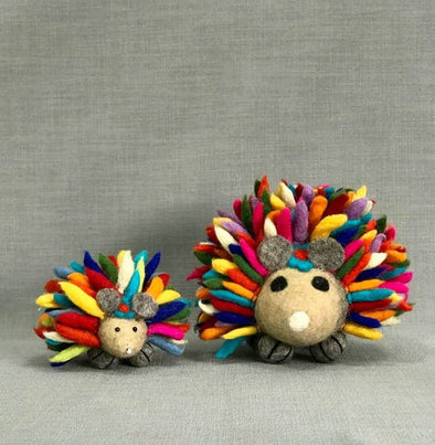 Large Felted Hedgehog