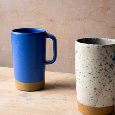 Settle Ceramics Latte Mug- Cobalt