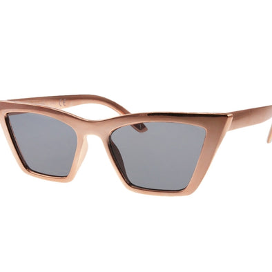 Feline Myself Sunglasses- Rose Gold