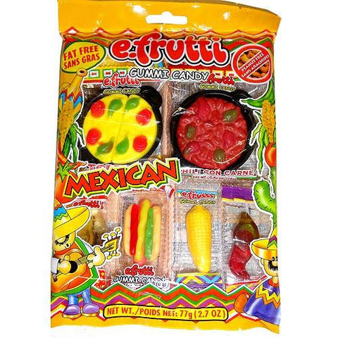 e.Frutti Lunch Bag Gummi Candy / Mexican Pack