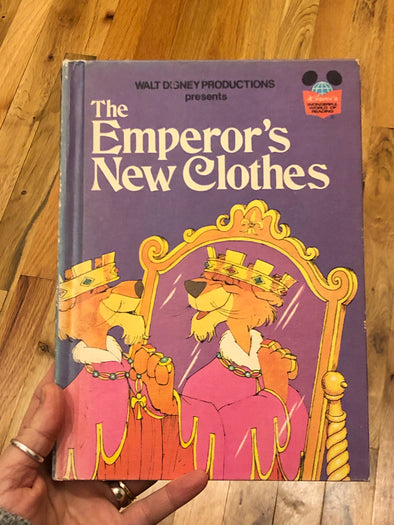 Vintage 1975 Disney Children's Book- The Emperor's New Clothes