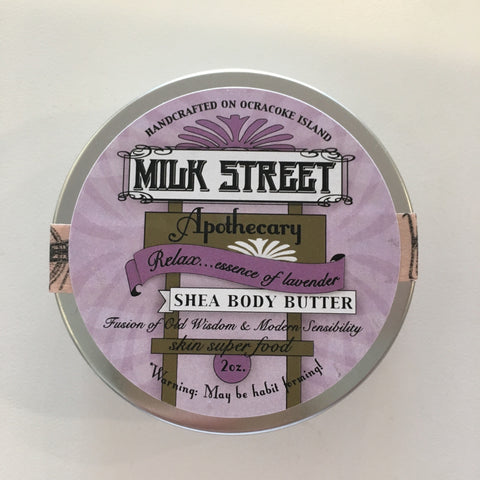 Milk Street Soap Shea Body Butter- Relax