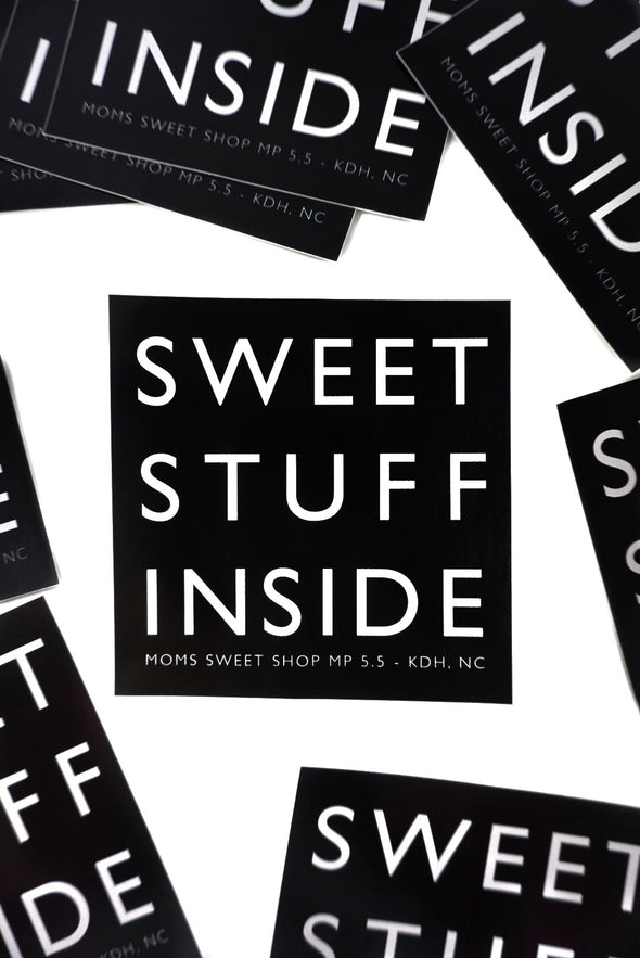 Sweet Stuff Inside Sticker
