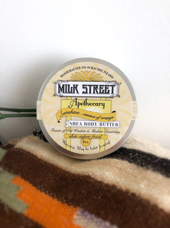 Milk Street Soap Shea Body Butter- Sunshine