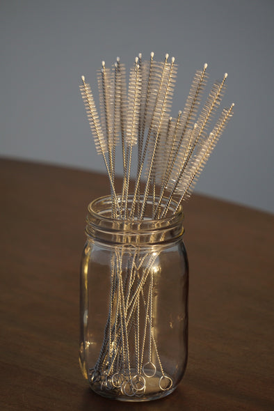 1 Scrub Brush for Reusable Straws