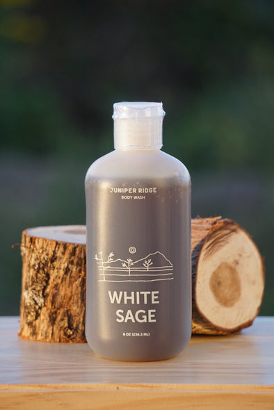 Juniper Ridge Body Wash- White Sage 8oz