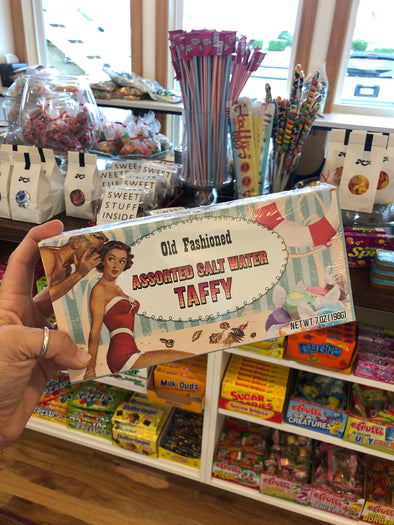 Old Fashioned Assorted Salt Water Taffy Box