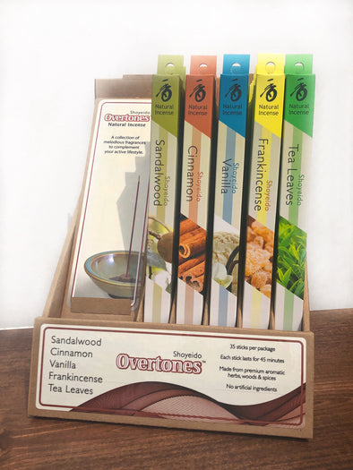 Shoyeido Overtones Natural Incense