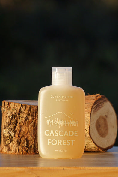 Juniper Ridge Body Wash- Cascade Forest 2oz Travel Size