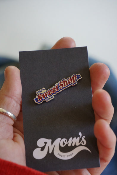 Mom's Mama Ruth Enamel Pin