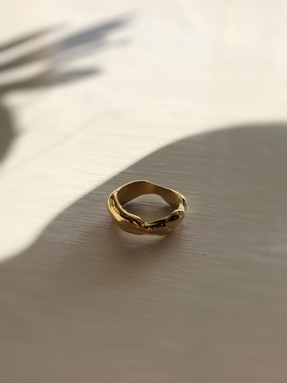 Merewif Droplette Ring- Gold
