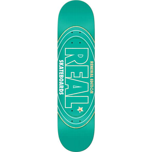 REAL RENEWAL OVAL DECK-8.25 TEAL