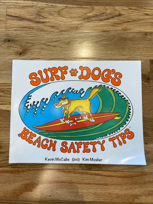 Surf Dogs Beach Safety Tips Book
