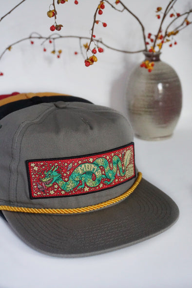 Mom's Sugar Dragon Trucker Snapback- Surplus